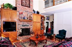 Luxury real estate beautiful brick home and 254 acre ranch