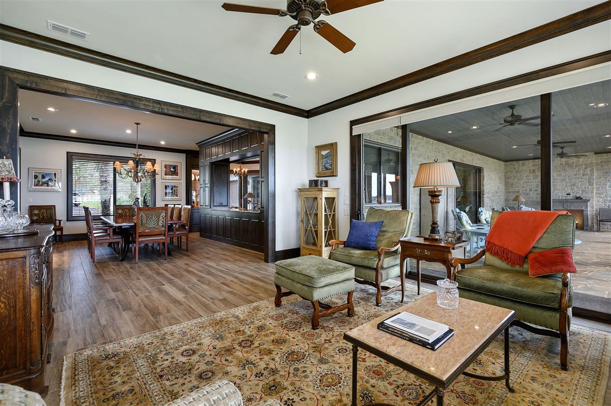 Luxury properties a rustic modern home
