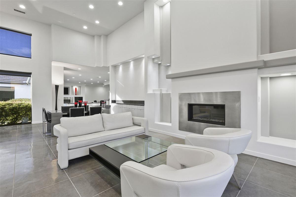 Luxury real estate contemporary custom home in prestigious TExas Stonebriar