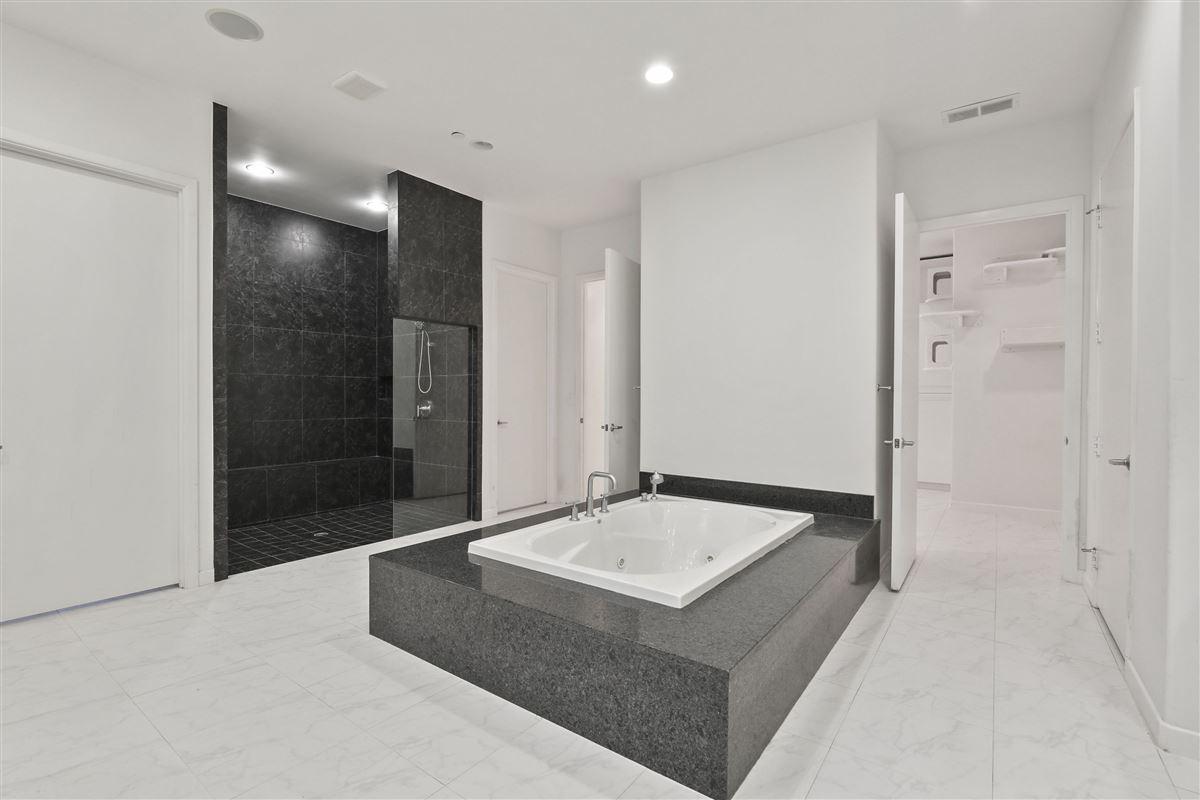contemporary custom home in prestigious TExas Stonebriar luxury homes