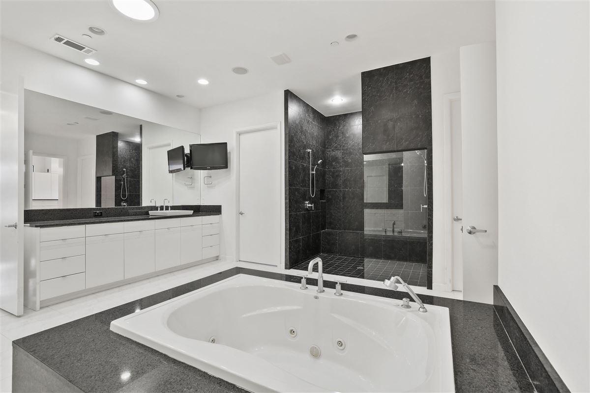 contemporary custom home in prestigious TExas Stonebriar luxury properties