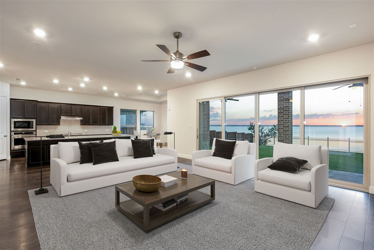 brand new home on Lake Lewisville luxury homes