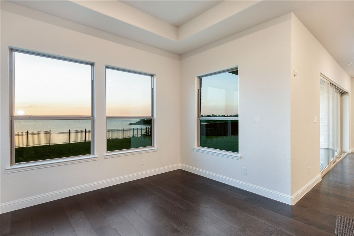 Luxury real estate brand new home on Lake Lewisville