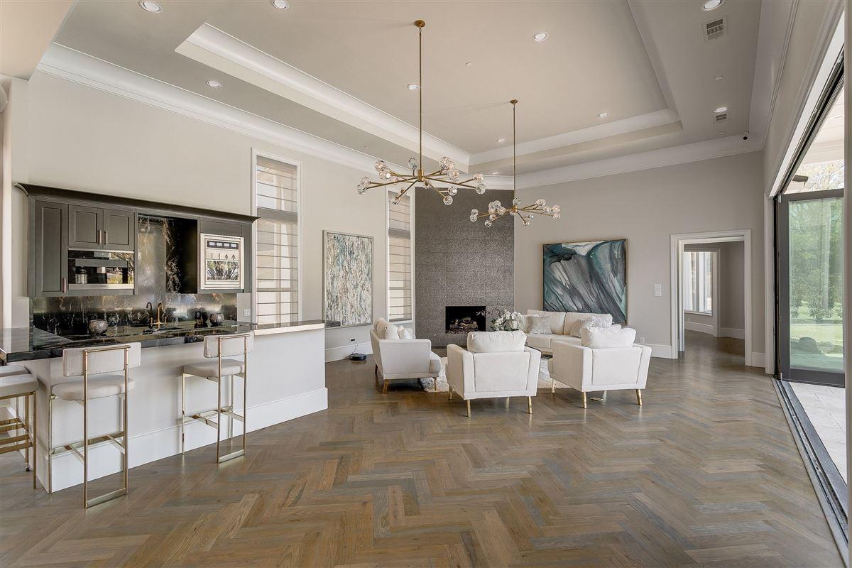 Modern Transitional Estate mansions