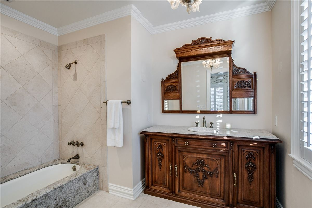 Luxury homes in Timeless elegance on an Old Preston Hollow corner lot