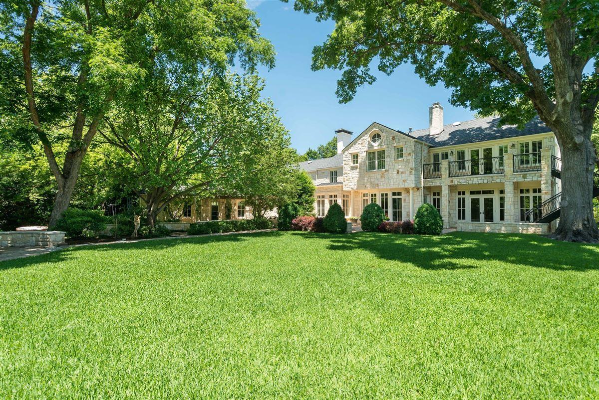 Luxury homes Timeless elegance on an Old Preston Hollow corner lot