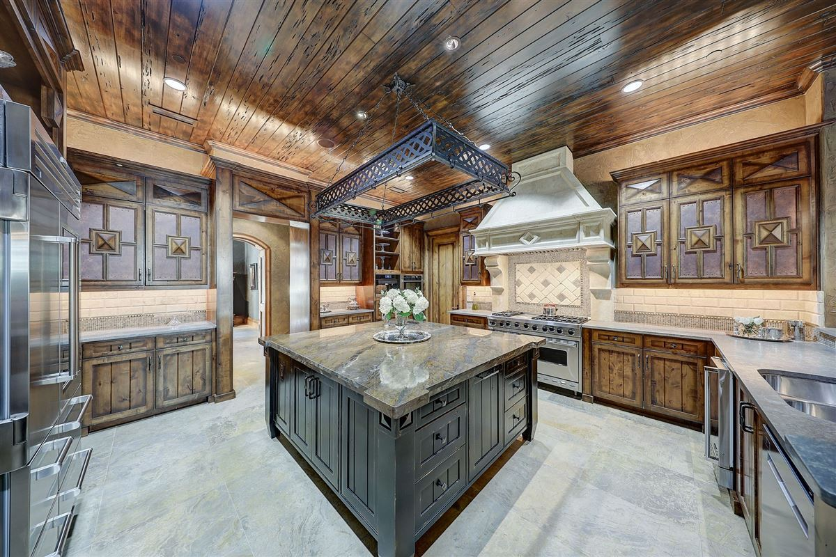 MAGNIFICENT estate in the heart of old Preston Hollow luxury homes
