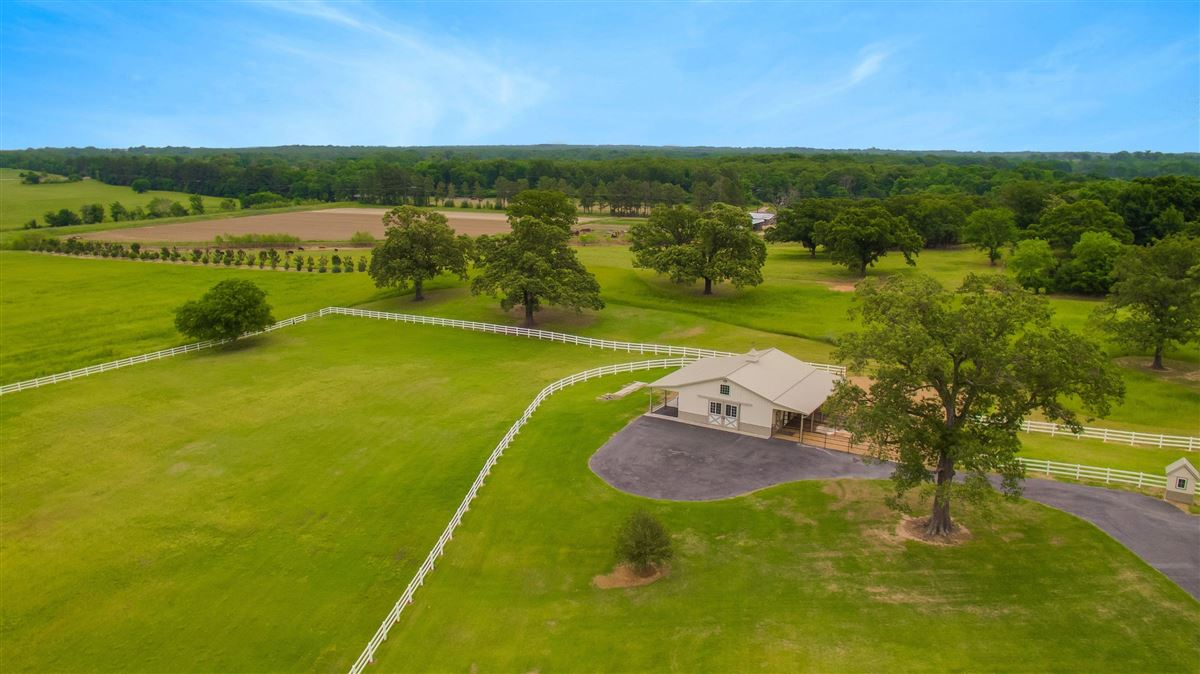 19.4 stunning acres with a horse barn  luxury real estate