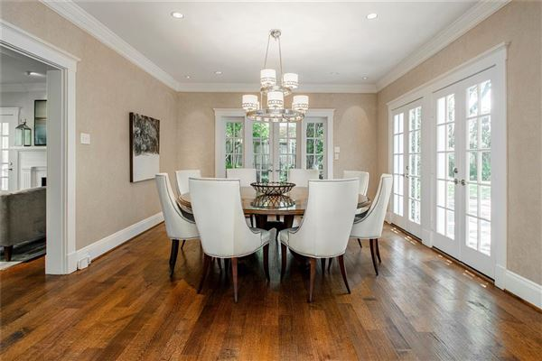 renovated classic home in old highland park luxury homes