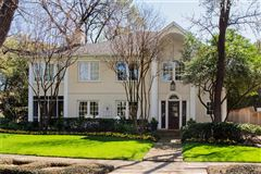 renovated classic home in old highland park mansions