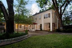 Luxury homes in renovated classic home in old highland park
