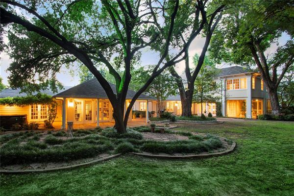 Luxury real estate renovated classic home in old highland park