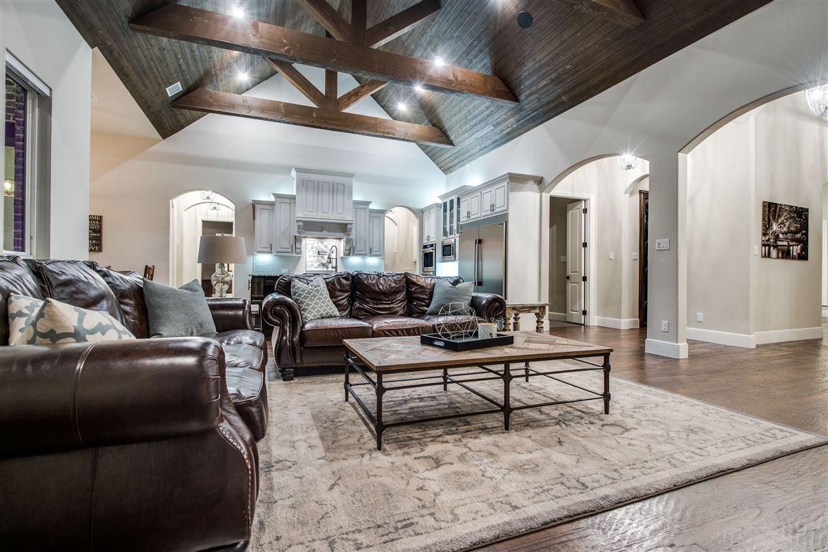 Stunning single story Custom home mansions