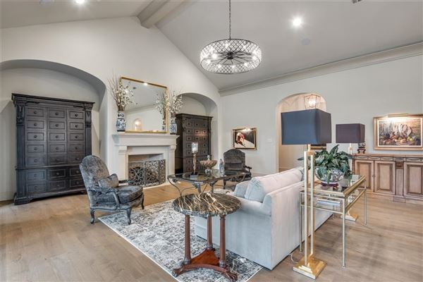 Beautifully appointed 2019 transitional home luxury homes