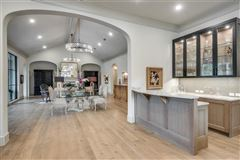 Beautifully appointed 2019 transitional home luxury real estate