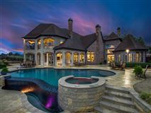 Mansions in luxury property with panoramic views