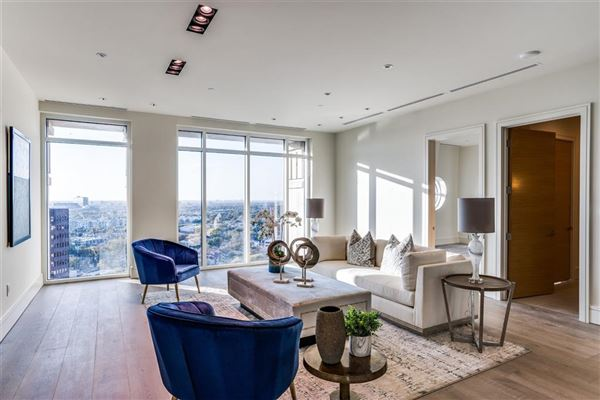NEW CONSTRUCTION PENTHOUSE IN THE LUXURY VENDOME HIGH-RISE luxury properties