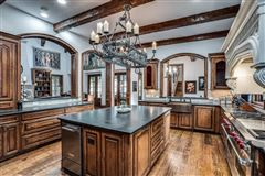dallas home Inspired by great estates in England luxury homes