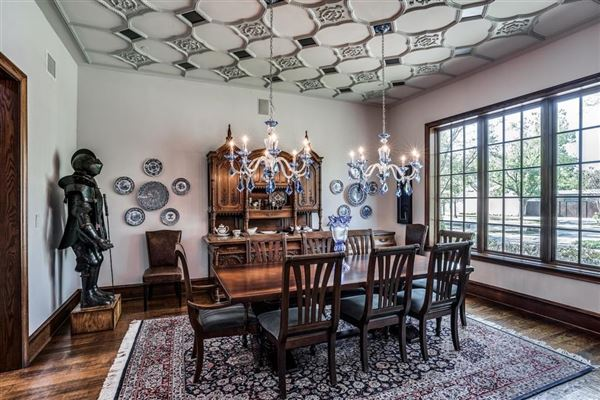 Luxury properties dallas home Inspired by great estates in England