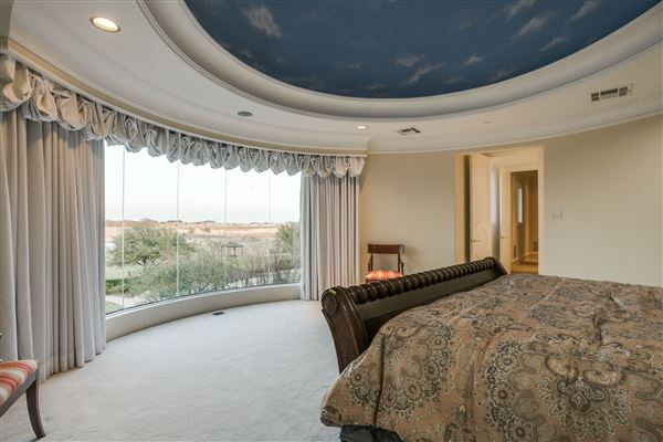 Chateau Montclair - one of the largest homes in texas luxury homes