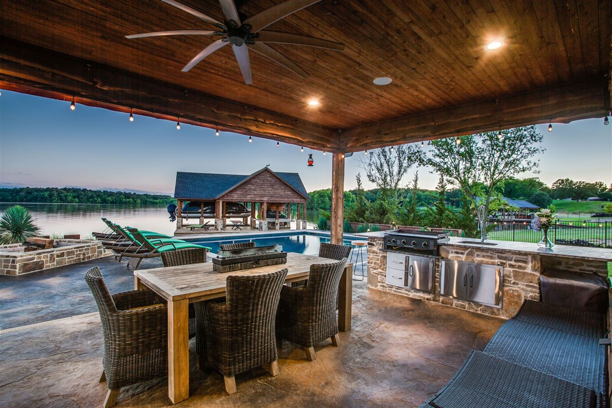 2016 Custom Designed Waterfront Home luxury properties