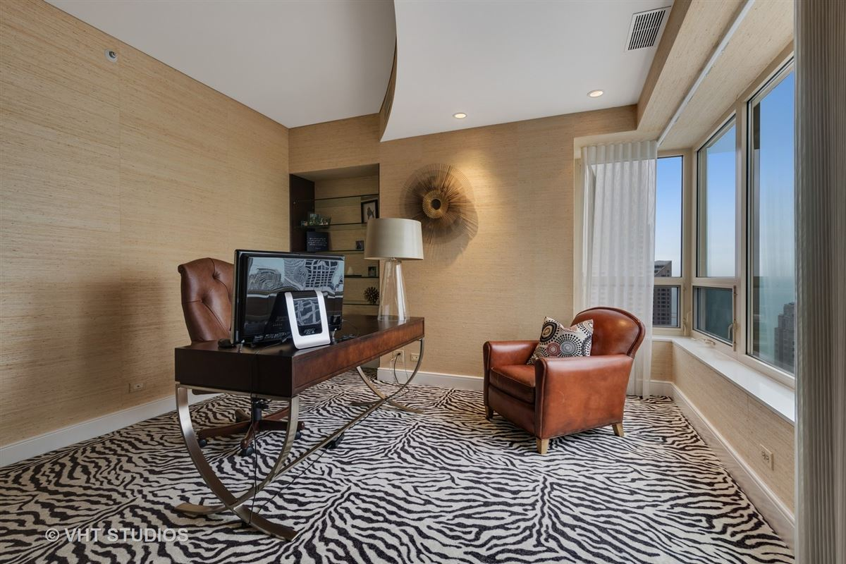 48th floor rental at the iconic Park Tower luxury homes