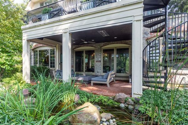 St. Charles most private, sought after street luxury real estate