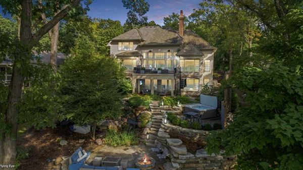 Mansions St. Charles most private, sought after street