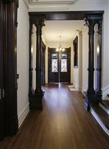 Mansions in expertly restored circa 1883 home