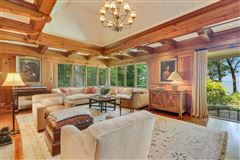 unobstructed lake front property luxury homes