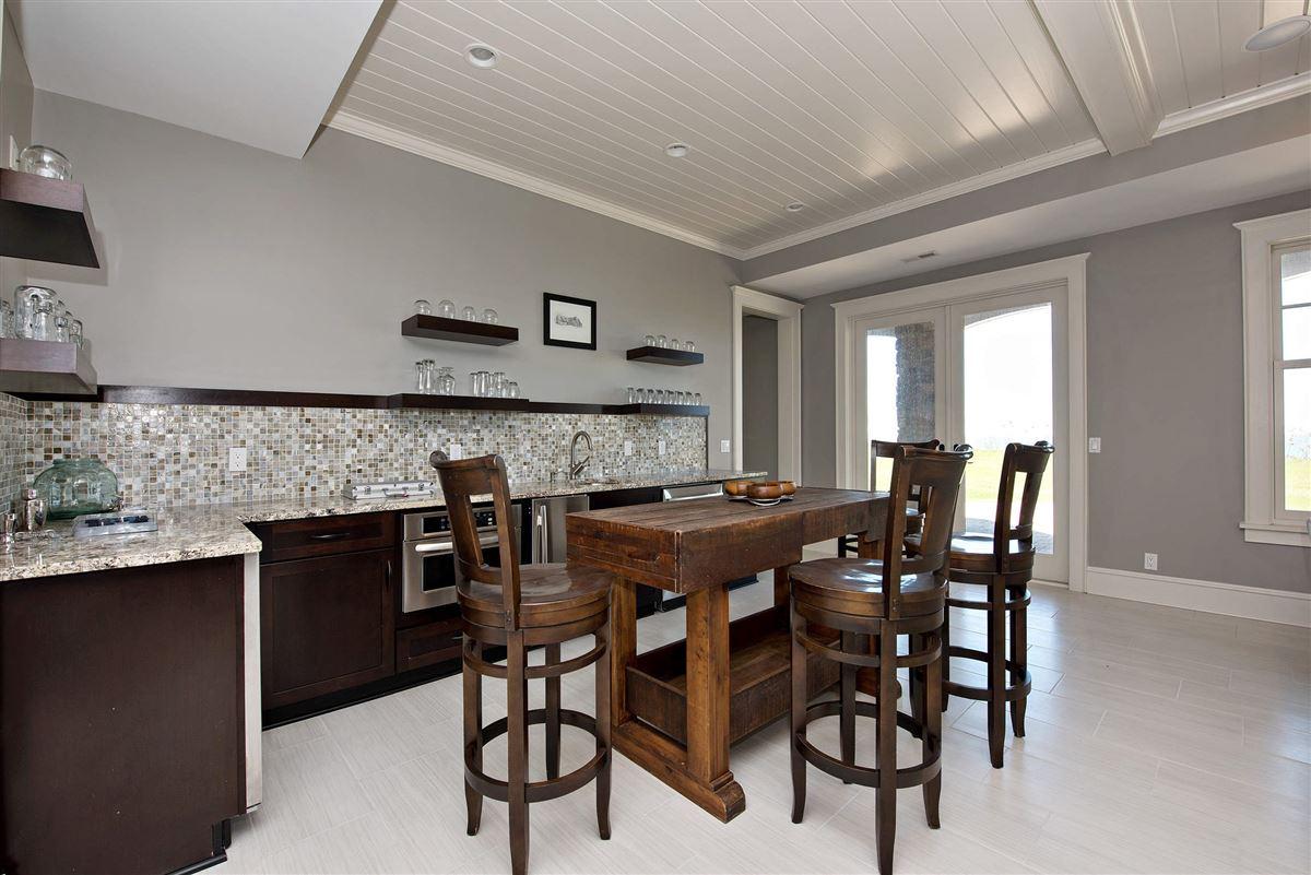 Stunning Lake Michigan Hamptons Style home luxury properties
