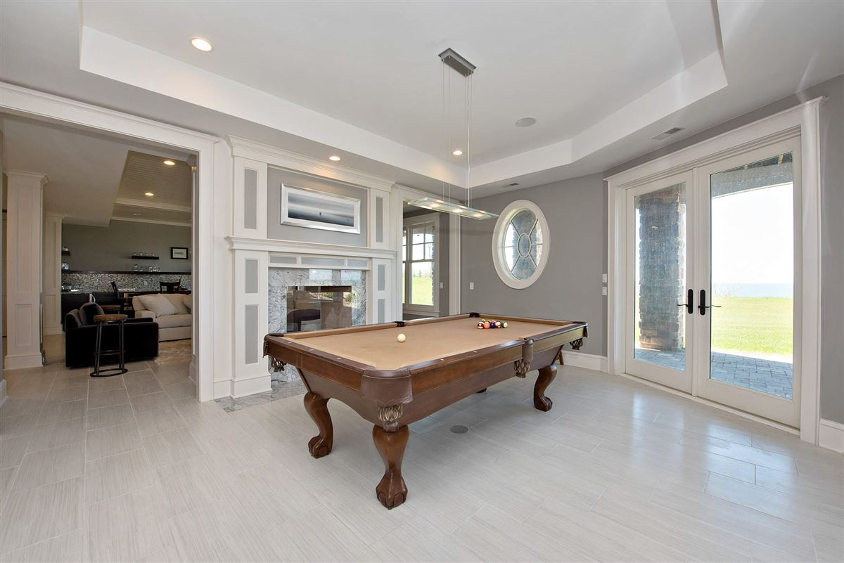 Mansions Stunning Lake Michigan Hamptons Style home