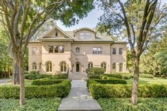 Luxury real estate stately Georgian home on an oversized lot