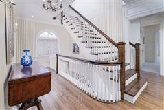 Luxury homes stately Georgian home on an oversized lot