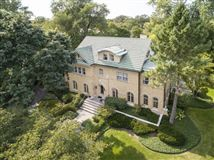 Luxury properties stately Georgian home on an oversized lot