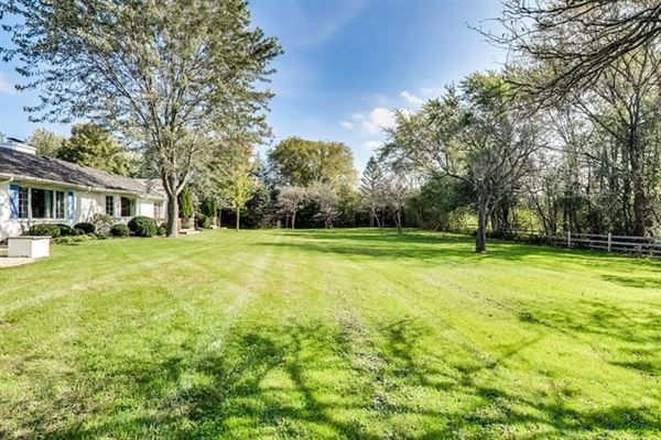 terrific ranch includes a fabulous huge backyard luxury properties