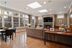 Gracious center entrance brick home luxury homes