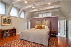 Gracious center entrance brick home luxury properties