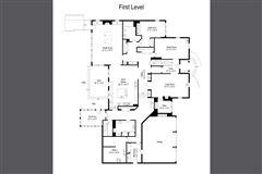 Luxury homes Gracious center entrance brick home