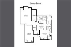 Gracious center entrance brick home luxury real estate