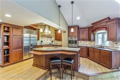 Luxury real estate Stately brick Colonial for rent