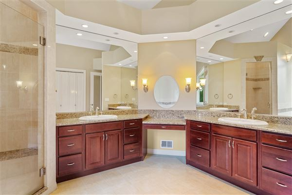 SPECTACULAR White Oak Estates custom home mansions