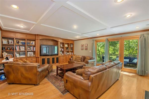 Luxury properties lovely home includes 2 fireplaces and a large yard