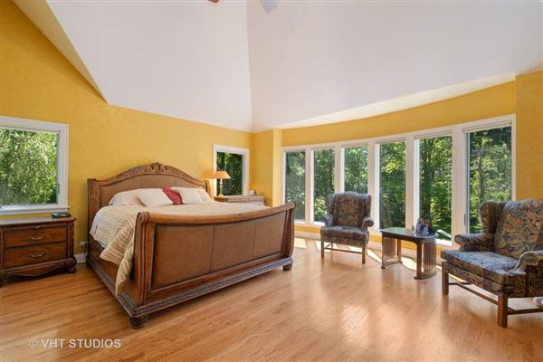 lovely home includes 2 fireplaces and a large yard mansions