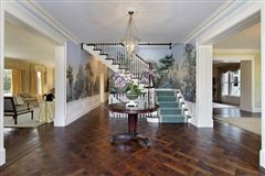 Mansions in stately classical revival home