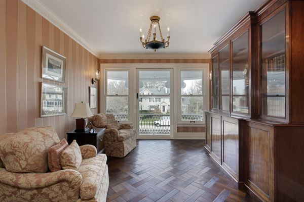 Luxury homes in stately classical revival home