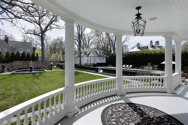 Luxury real estate stately classical revival home