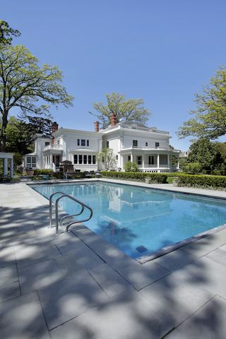 stately classical revival home luxury properties