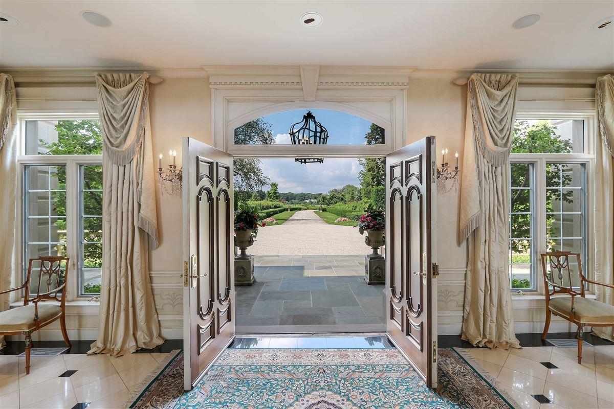 Luxury homes magnificent 12-plus acre lake michigan estate