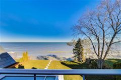 magnificent lakefront property in East Kenilworth mansions